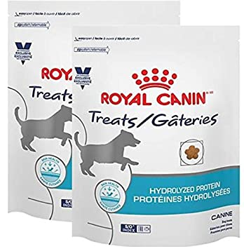Royal Canin Veterinary Diet Hydrolyzed Protein Canine Dog Treats, 17.6 Oz, 2 Bags