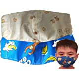 Kid's Face Mask - Assorted Design 6 to 9 YO (2 pc)