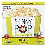 SKNPOP Popcorn, Micro, SEA Salt, Pack of 12