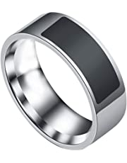 dalina Stainless Steel Smart Ring Wearing Jewelry NFC Label Mobile Phone Accessory Rings