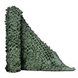 HYOUT Camo Net, Woodland Camouflage Netting Military Sunshade Nets Camping Hunting Shooting Blind Sunscreen Netting Camouflage Party Decoration