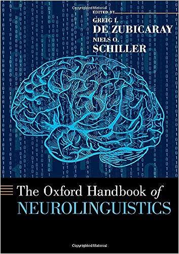 The Oxford Handbook of Neurolinguistics (Oxford Handbooks) - Original PDF