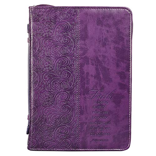 Purple Bible Cover (Purple