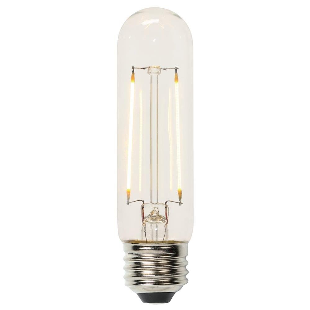 Westinghouse 0518500 60 watt equivalent t10 dimmable clear westinghouse 0518500 60 watt equivalent t10 dimmable clear filament led light bulb with medium base amazon arubaitofo Images