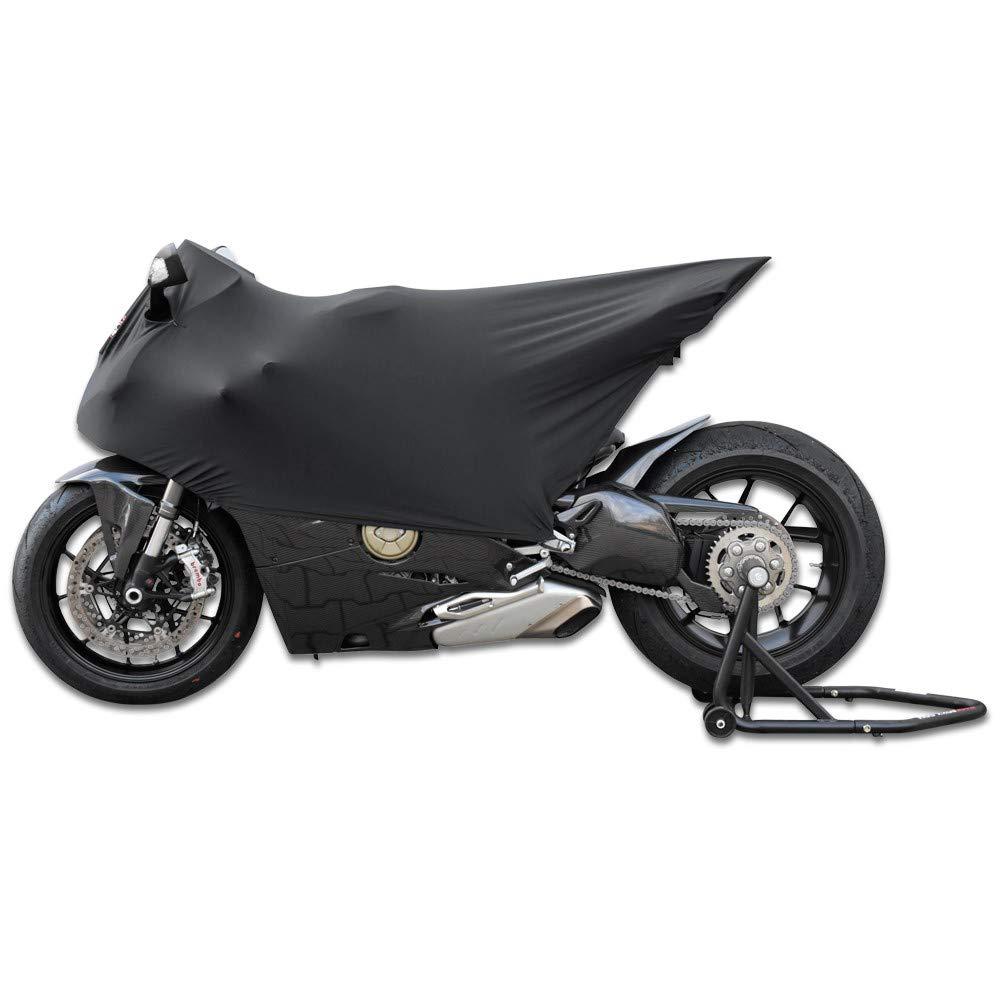 RACEFOXX Racing Stretchhaube aus Elastan Haube Motorradhaube Garage wasserfest