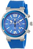 Swiss Legend Men's SL-10006-03-BLB Legato Cirque Analog Display Swiss Quartz Blue Watch