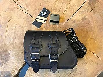 Orletanos Sporty Flame Black Halterung Kompatibel Mit Schwingentasche Orletanos Harley Davidson Sportster 1200 48 883 Iron Seitentasche Orletanos Halter Auto