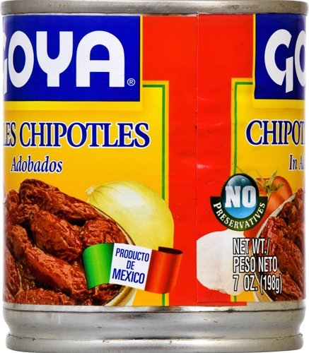 Goya Foods Chiles Chipotles, 7-Ounce (Pack of 12) by Goya (Image #1)