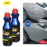 Moonase 2 Pack One Glide Scratch Remover, Car Artifact Light Scratch Repair Wax