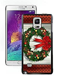 New Design Merry Christmas Black Samsung Galaxy Note 4 Case 97