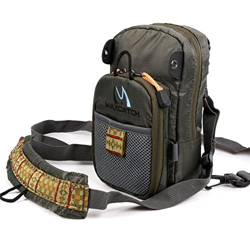 Maxcatch Fly Fishing Chest Pack Lightweight Chest Bag (Chest Packs Fly Fishing)
