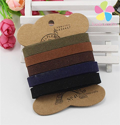 10mm-flat-faux-suede-korean-velvet-leather-belt-strap-5yards-lot-1y-color-mixed-color-2
