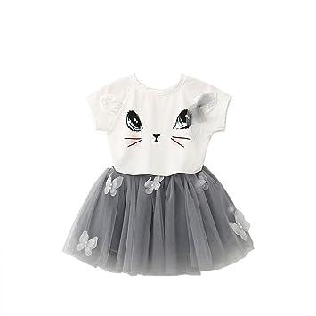 Feixiang Vestido de niña, Lindo Bebé Infantil Chicos y Niñas ...