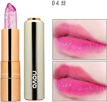 Xiton 1pc Cristal Jelly Rouge à lèvres hydratant Long