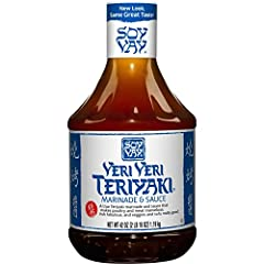 Soy Vay Veri Veri Teriyaki Marinade & Sauce is an award winning teriyaki sauce bursting with distinct Asian flavor accents. This marinade and sauce is made from high quality ingredients including soy sauce, expeller pressed sesame oil, gi...