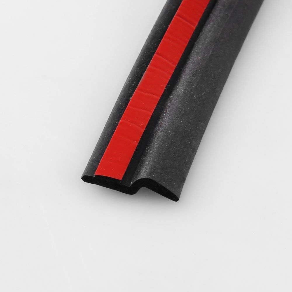 Mouchao Tira de goma Sonido negro Excelente producto Junta de goma para coche Anticolisi/ón