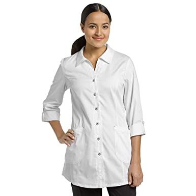 3cb5793899b4 Allure by White Cross Women's Roll-Up Sleeve 32&Frac14; Lab Coat Xx-Small