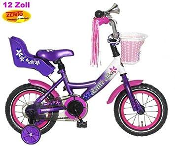 fd3ade8c5 Bicicleta holandesa para niña 12 pulgadas poza Little Miss Lila: Amazon.es:  Deportes y aire libre