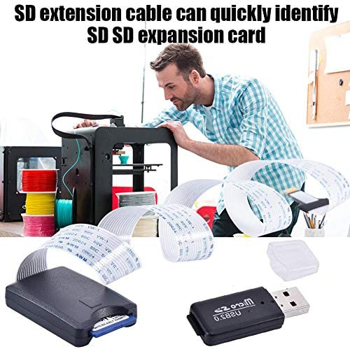 CatcherMy 3D Printing Pen dedicado TF a SD Extension Cable Kit Kit ...