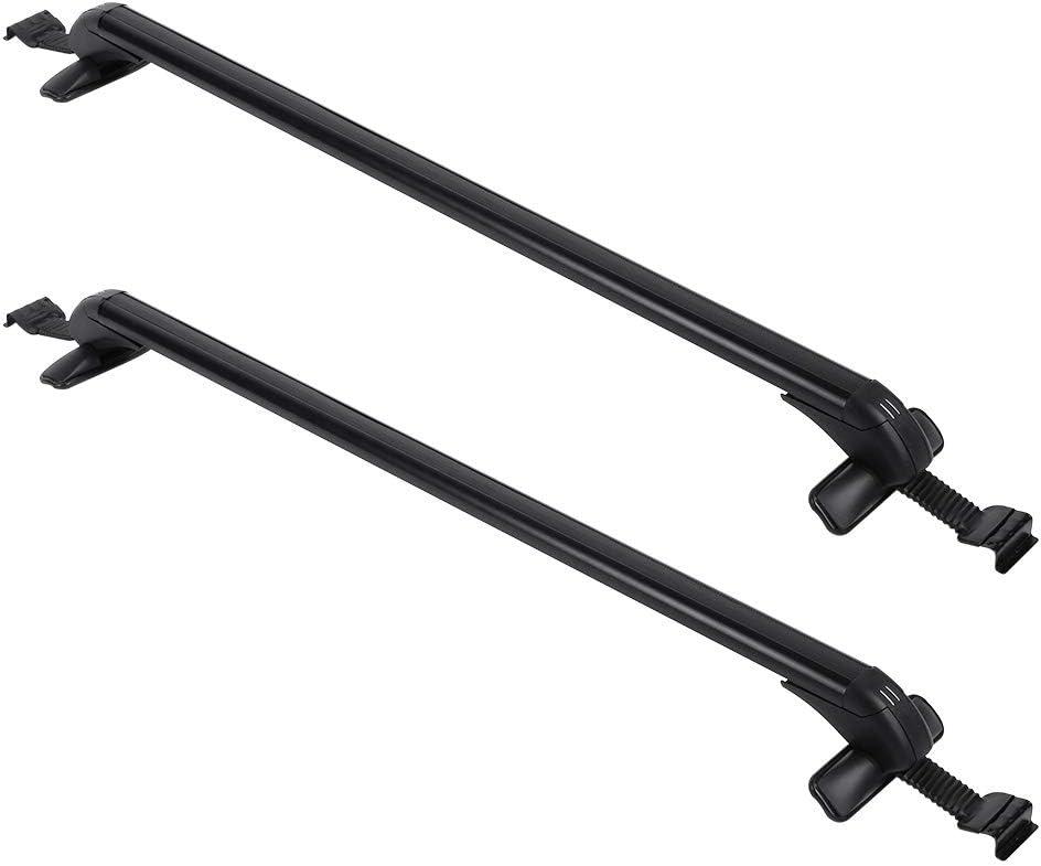 Zerone Universal Car Roof Bars Aluminium Alloy Car Aero Roof Bars Travel Accessories With 2 Keys
