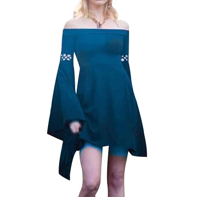 Mujeres Mini Vestido Vintage Traje Medieval Mujer Víspera de ...