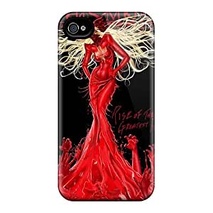 Scratch Resistant Hard Phone Cover For Iphone 4/4s (uBT14556xaIl) Custom Nice In This Moment Band Pictures