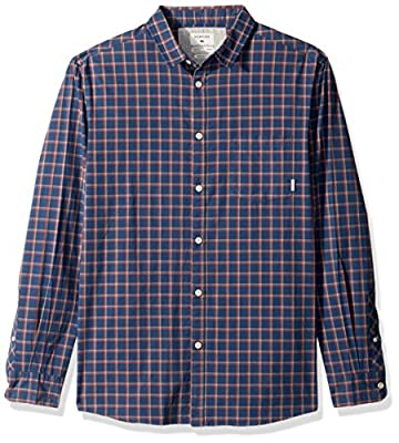 Quiksilver Men's Everyday Check Long Sleeve Plaid Shirt