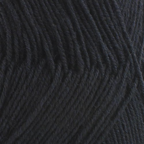 Super Fine Weight Soft and Slim Yarn Color 2622 Tuxedo Black - BambooMN - 2 Skeins ()