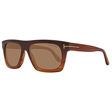 6ceca9e108 Image Unavailable. Image not available for. Color  Tom Ford Rectangular  Sunglasses ...
