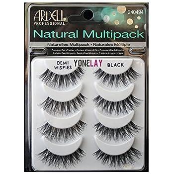 0338c746694 THE Best 4 Pairs Ardell Demi Wispies Natural Multipack False Eyelashes Fake  Eye Lashes