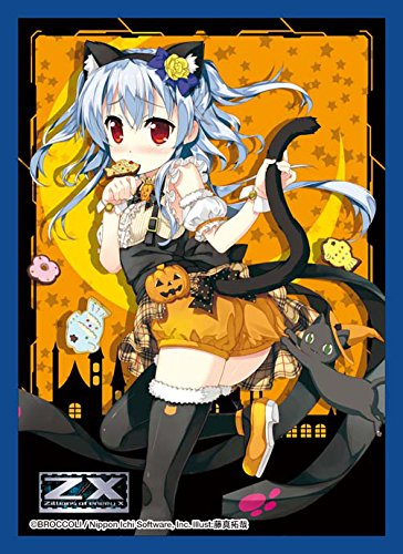 Azumi Kagamihara Halloween Z/X Ignition Anime Character Card Game Sleeves Collection Zillions of Enemy X Costume Girl Illust. Takuya Fujima by Broccoli