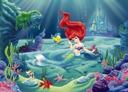 Komar Disney The Little Mermaid Ariel Wallpaper Mural Multi