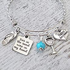 From Goddaughter You are loved Godmothers are a blessing Thank you for being mine From Godchild Jewelry From Godson Birthstone Initial Letter Charm Bracelet Godmother Bracelet Blessed Charm