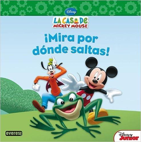 Si buscas un libro igualito a la seri de La Casa de Mickey Mouse, este cuento es un buen ejemplo. Podrás leerselo a tu hij@ y hasta llamar al famoso
