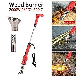 Electric Weed Burner 2000W, Electric Lawnmower Weeder Power Tool, Weed Killer, Garden Tools