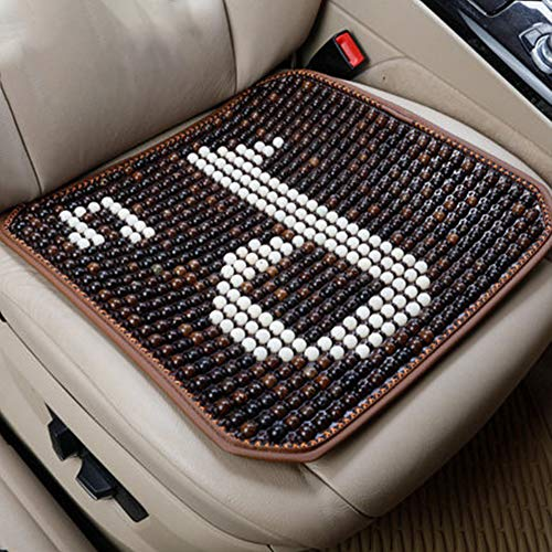 HEIFEN Car Wooden Bead Material Cushion Summer Cool Pad, Wearable, Durable, Ventilated, Easy to Install G