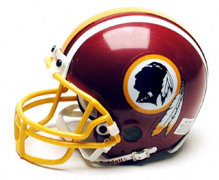Washington Redskins Replica Riddell Mini Helmet (Nationals Riddell Mini Helmet Washington)