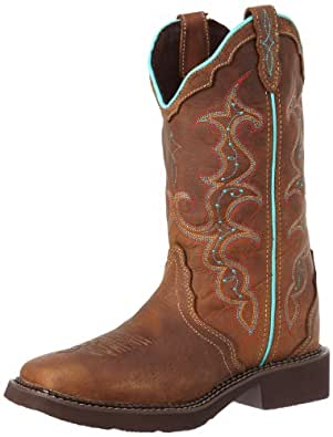 """Justin Boots Women's Gypsy Collection 12"""" Soft Toe,Tan Jaguar,5 B US"""