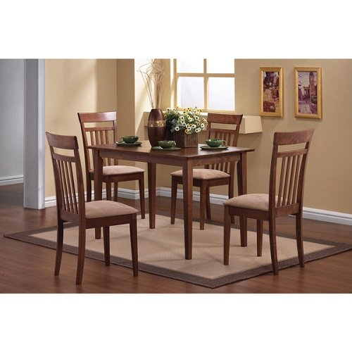 Home Madison Cherry 5-piece Dining Set Table and Four Chairs