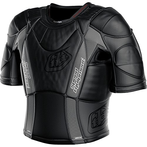 Troy Lee Designs UPS 5850 HW Short-Sleeve Shirt Adult Undergarment Off-Road Motorcycle Body Armor - Black/Small