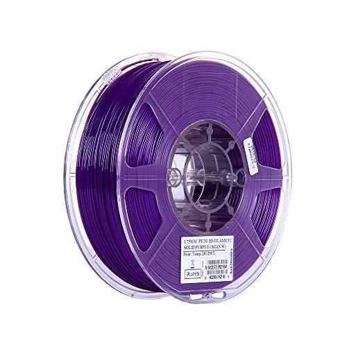 Aibecy eSUN PETG 1.75mm Impresora 3D Filamento 1kg (2.2 lb ...