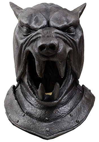 Loftus International Game of Thrones The Hound Helmet Mask Novelty Item