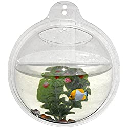 Wrapables Fish Bubble Wall Mount Fish Tank (3.6L)