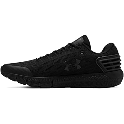 Under Armour Men's Charged Rogue Running Shoe, Black (001)/Black, 10 | Road Running