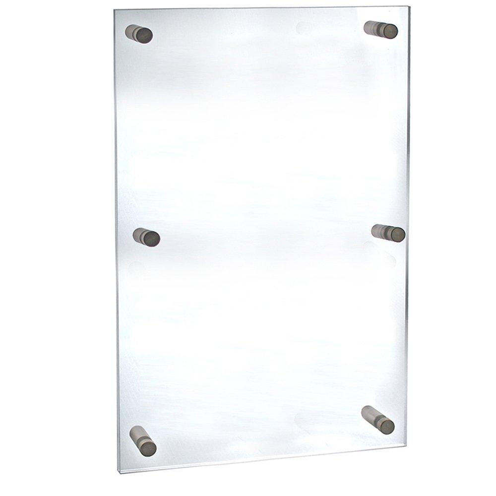 Azar Displays 105540 Standoff Frame, 30'' W x 40'' H