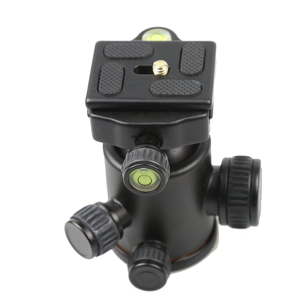 Quick Release Plate for Tripod SLR Camera QZSD-02 Aluminuml Ball Head Ballhead
