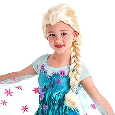 Disney Frozen Silver Snowflakes Elsa Wig Exclusive Dress Up Toy: Toys & Games