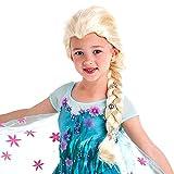 Disney Frozen Silver Snowflakes Elsa Wig