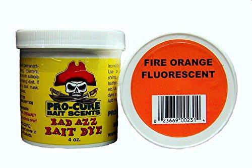 Pro-Cure Bad Azz Powder Dye, 4-Ounce, Fire Orange Fluorescent