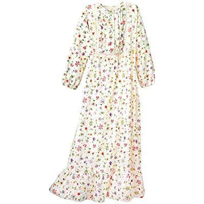 Hot National Floral Flannel Nightgown supplier